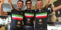 I NOSTRI CAMPIONI ASSOLUTI 2015 - 1° DE BONIS - 2° BELLIN - 3° DAL BEN