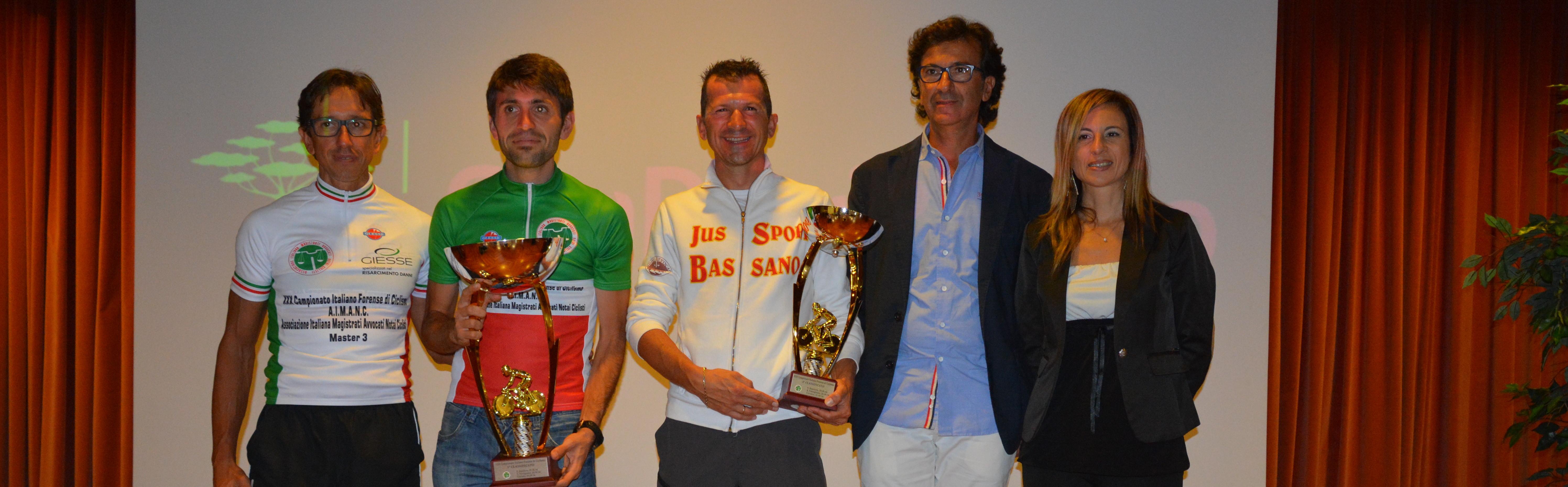 I campioni italiani forensi di ciclismo 2014