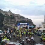 partenza PRIMA PROVA CAMPIONATO ITALIANO FORENSE 2015 M/F ISCHIA