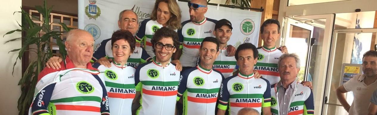 I CAMPIONI GARA IN LINEA  AIMANC 2017