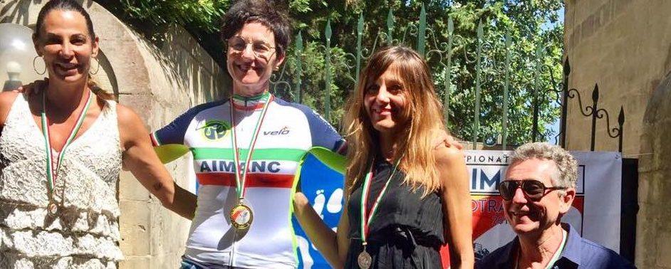 LE CAMPIONESSE D'ITALIA AIMANC 2018 CHIARA,AZZURRA E FRANCA