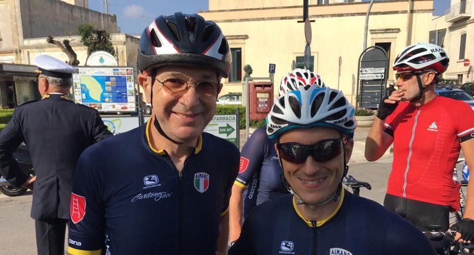 IL CAMPIONE D'ITALIA 2018 – CRONOMETRO – AVV PAOLO CAGLIARI CON IL CAPITANO SCALIGERO AVV MONTAGNOLI