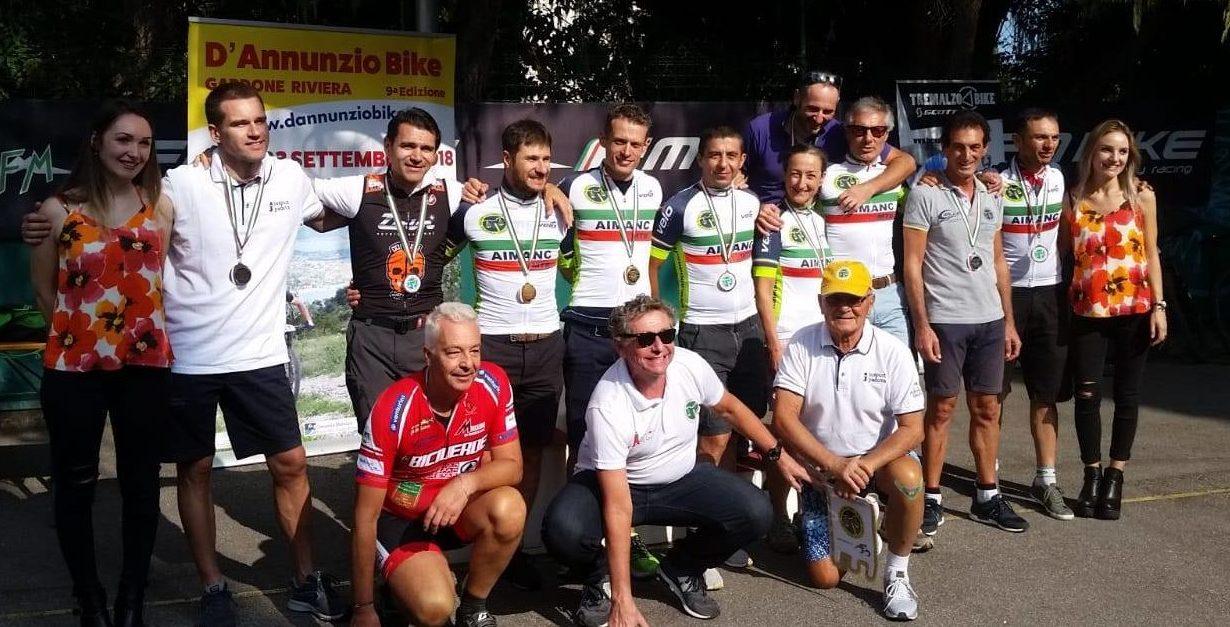 VITTORIO GRILLI – CAMPIONE D'ITALIA AIMANC MTB – GARDONE – 23/9/2018