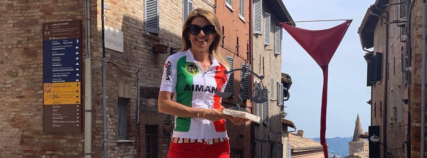 Campionessa 2019 Cronoscalata e Gara in Linea Avv Marica Morara – URBINO