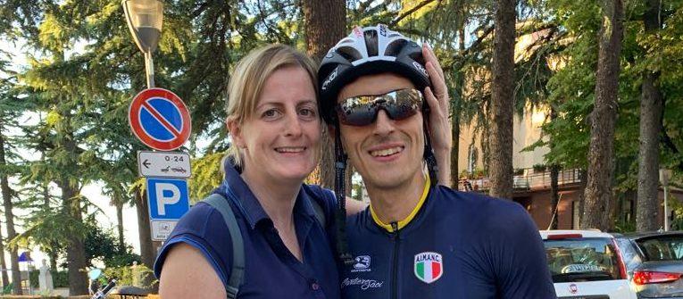 Avv Paolo Cagliari – Campione d'Italia – Cronoscalata Muri di Urbino 2019