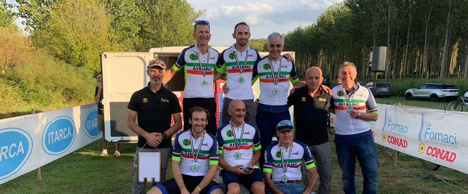 I CAMPIONI D'ITALIA AIMANC MTB 2019 – GUASTALLA RE