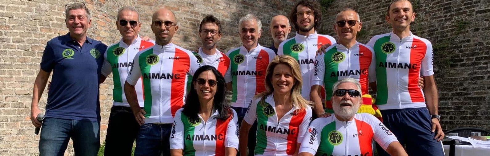 I Campioni d'Italia Aimanc 2019 Gara in Linea – URBINO