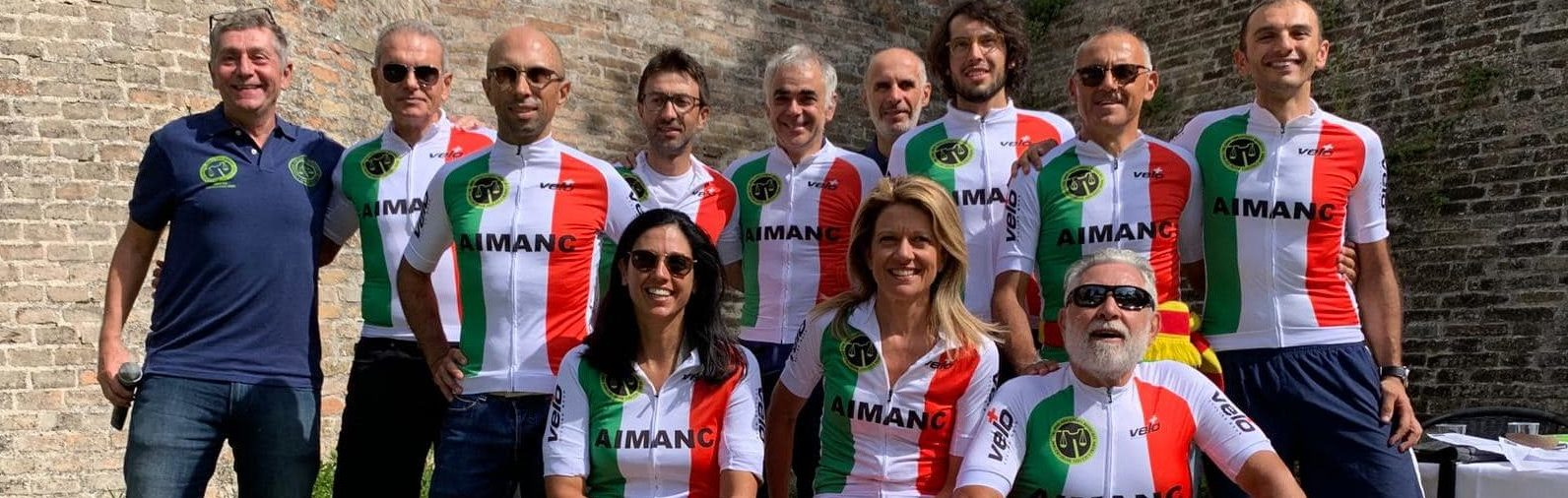 I Campioni d'Italia Aimanc 2019 Gara in Linea